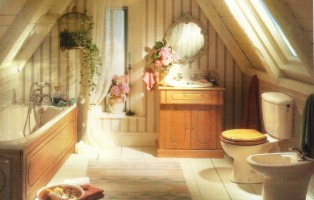 Mobili bagno country