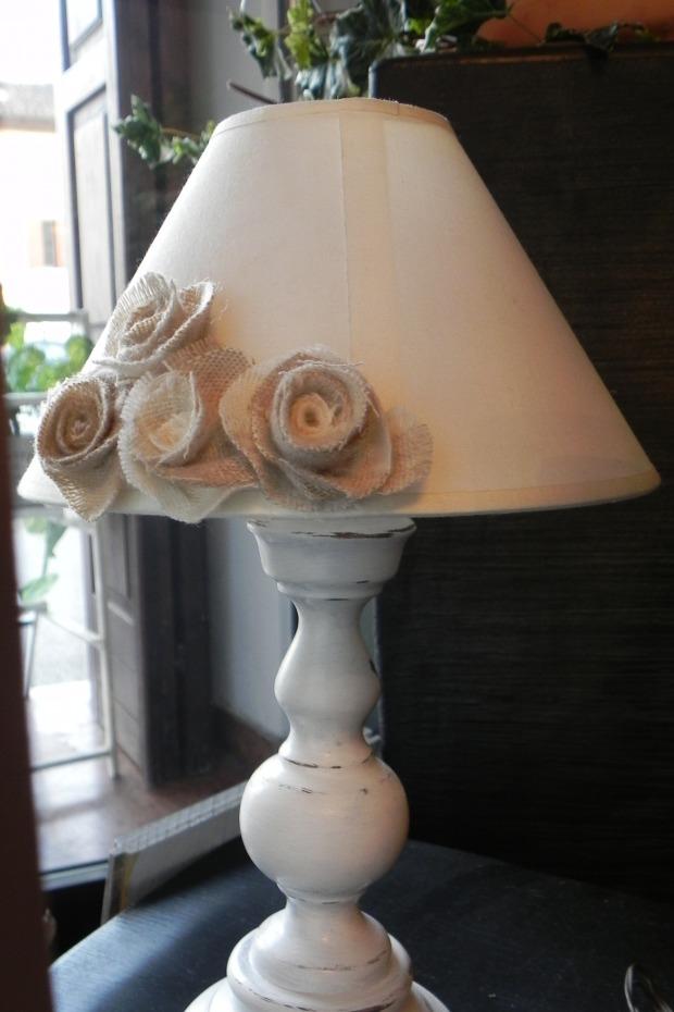 Lampade camera da letto country abat jour legno ferro - Lampade camera da letto ...