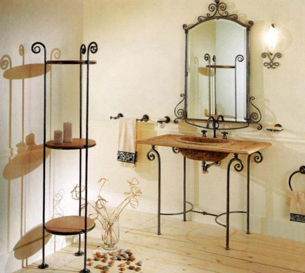 accessori bagno country
