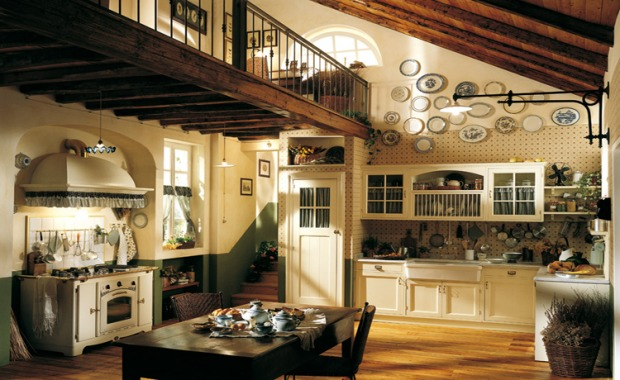 Accessori cucina country: rame, ceramica