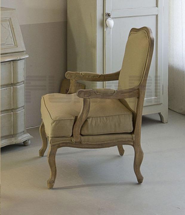Sedie e poltrone da ufficio country legno cotone for Poltrone country chic